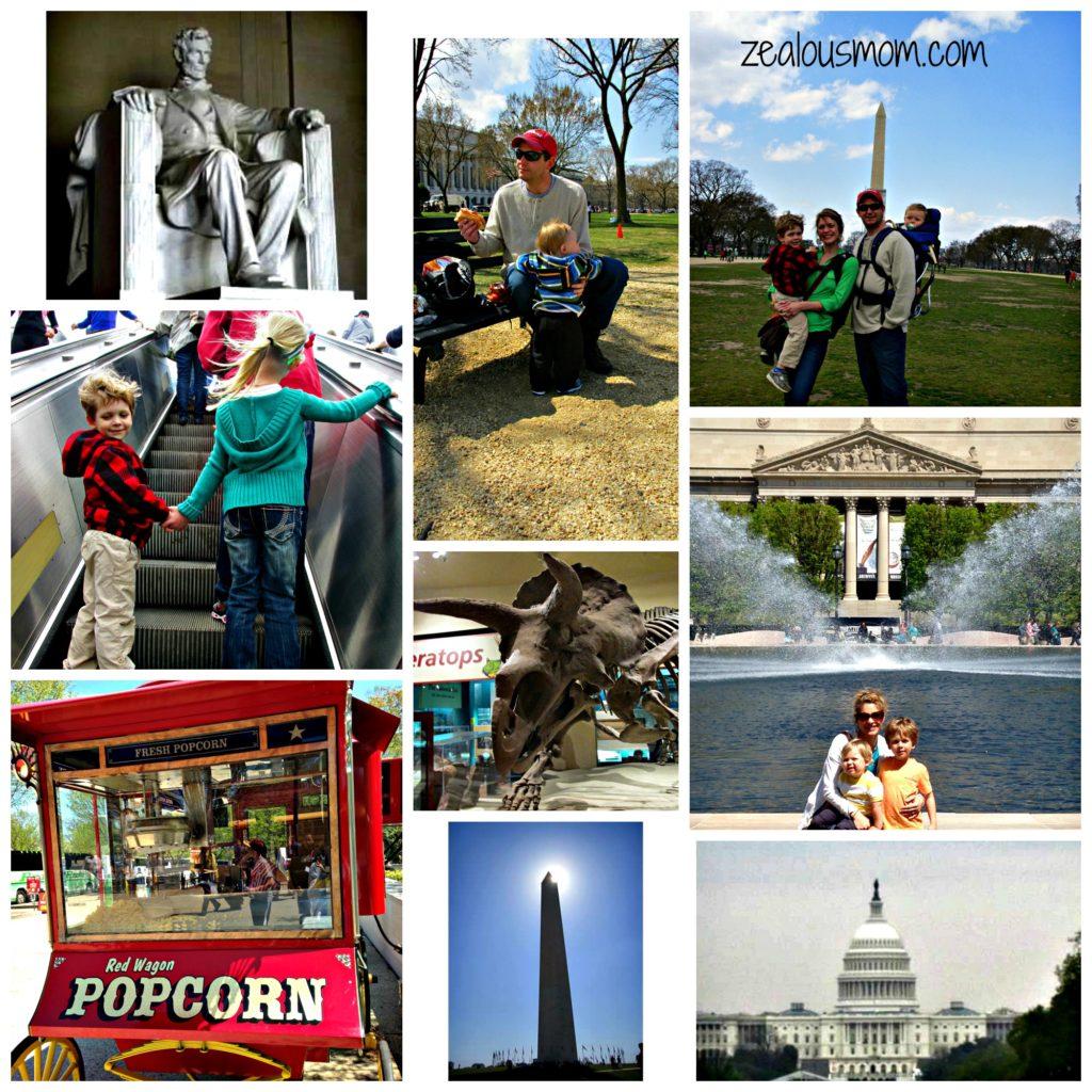 Family Fun in Washington, DC -zealousmom.com #washingtondc #familyfun