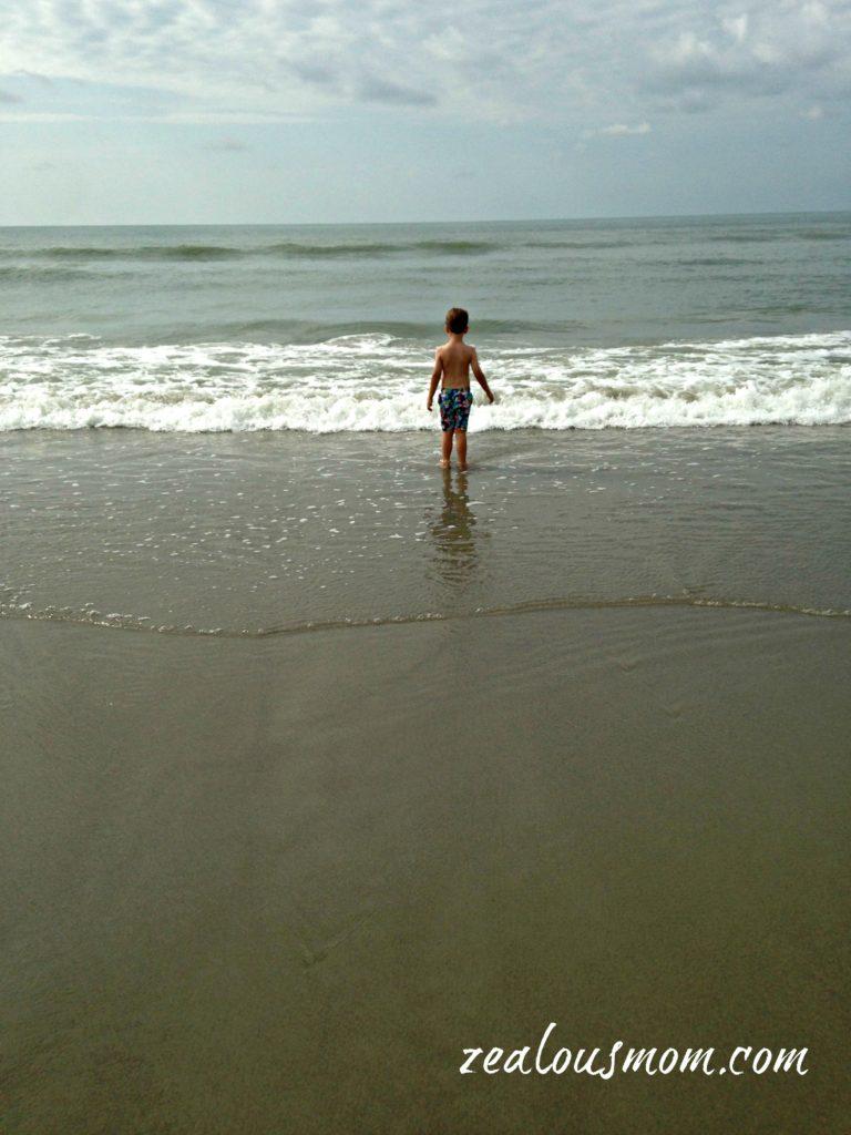 The Seashore -zealousmom.com #beach #seashore #travel