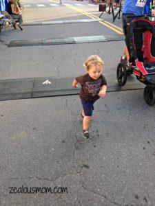 Waynesville Main Street Mile -zealousmom.com #races #running