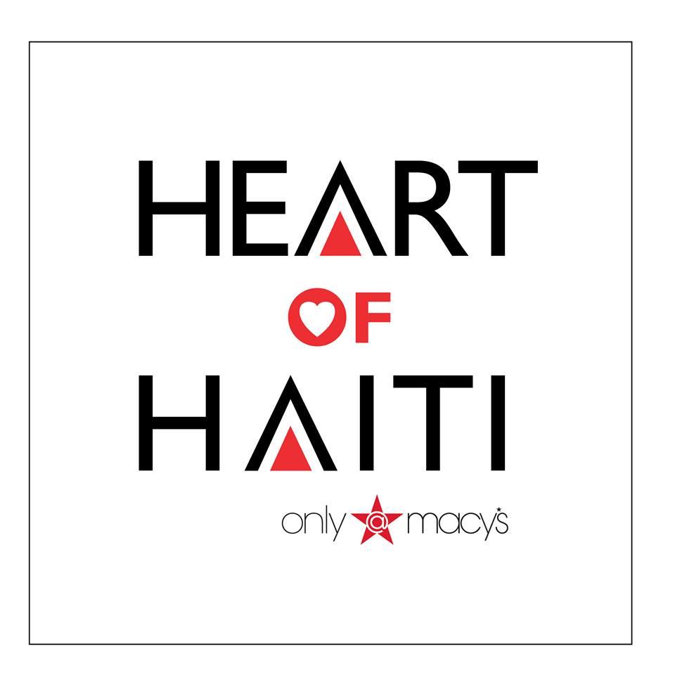 Macy's Heart of Haiti #thankful #artists
