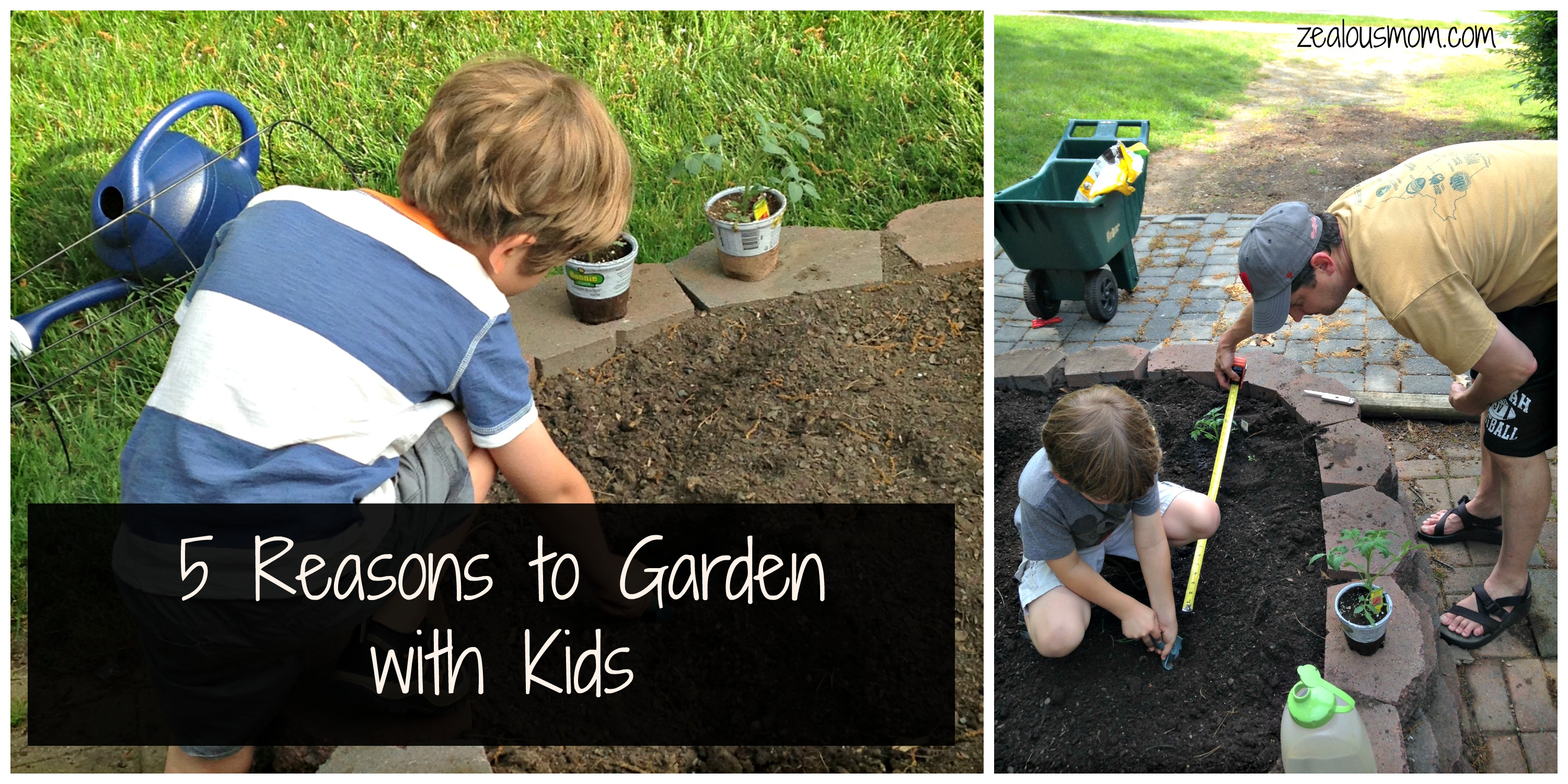 5 Reasons to Garden with Kids