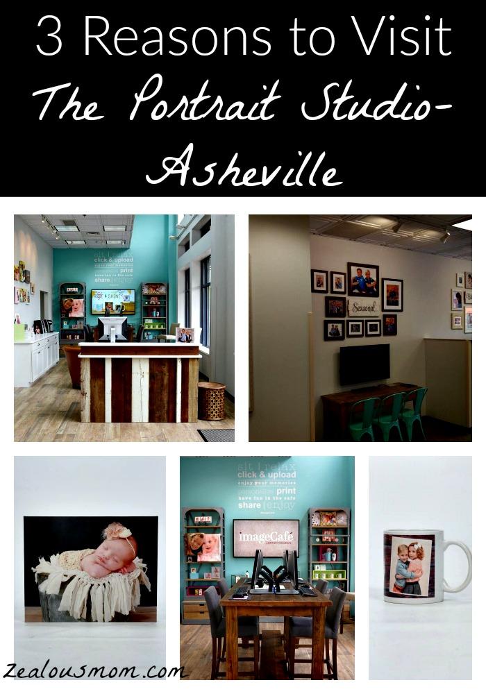 3 Reasons to Visit The  Portrait Studio-Asheville #photography #AVL
