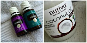DIY Hair Conditioning Mask. #DIY #beauty #hairhealth #essentialoils #youngliving