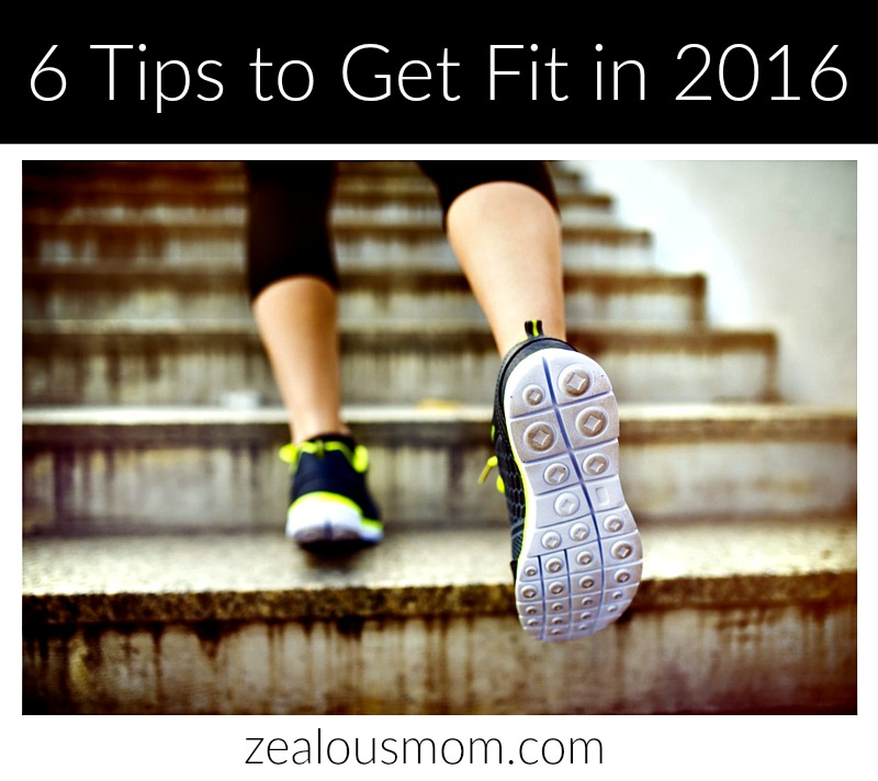 6 Tips to Get Fit in 2016
