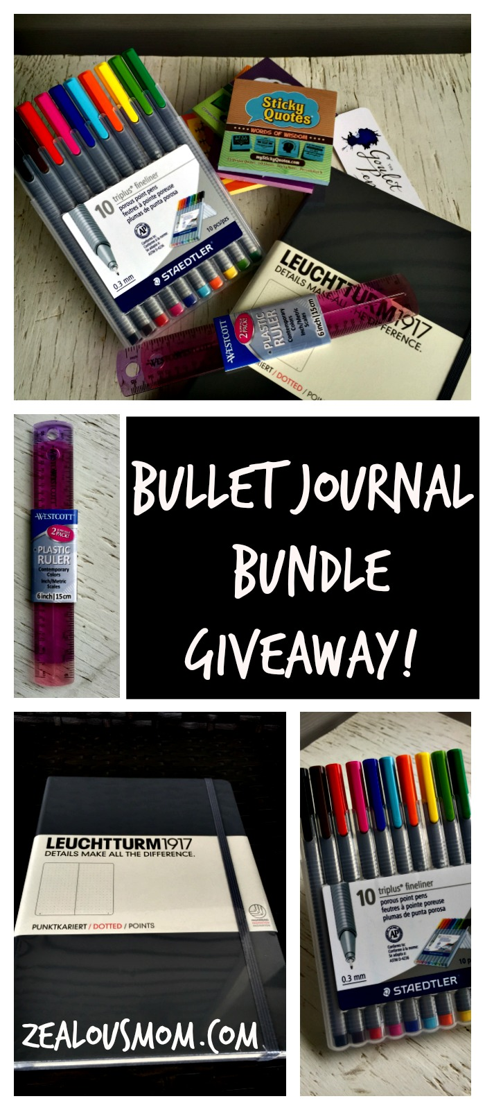 Bullet Journal Bundle #Giveaway