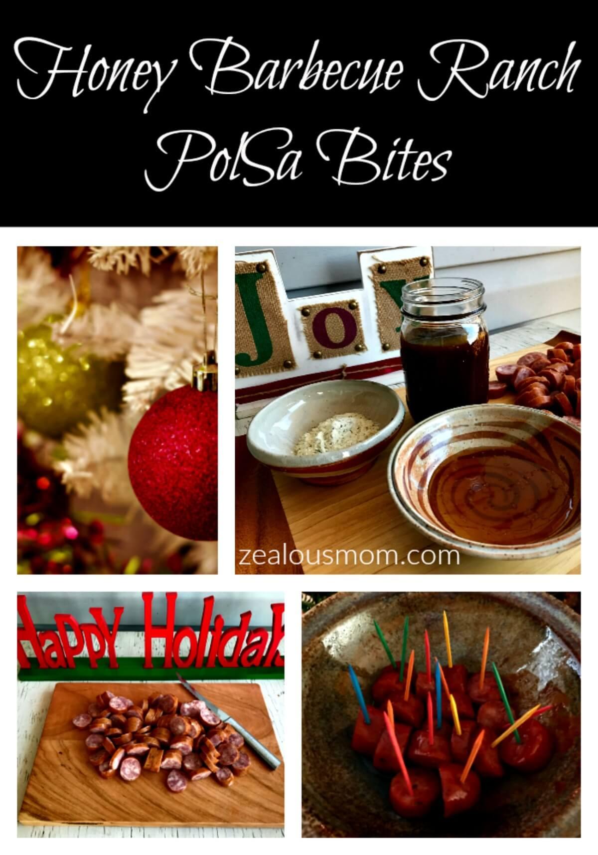 Honey Barbecue Ranch PolSa Bites